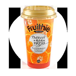 フルージー ブラッドオレンジ+みかん&ナタデココ 225g
