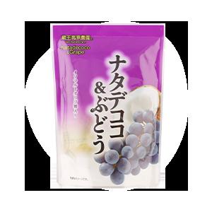 ナタデココ&ぶどう 180g